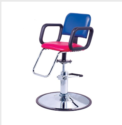 Kids styling chair black salon furniture toronto canada usf for Salon furniture canada