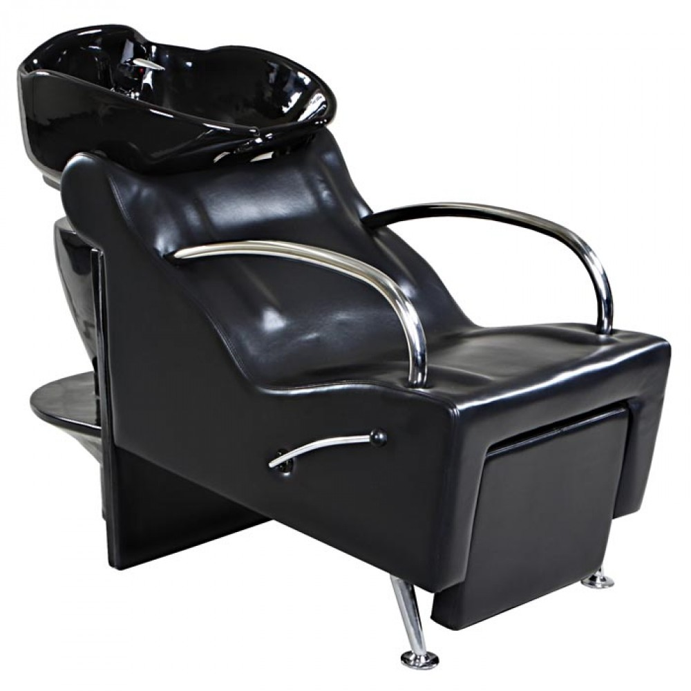 Shampoo unit 5 with legrest salon furniture toronto for Salon furniture canada