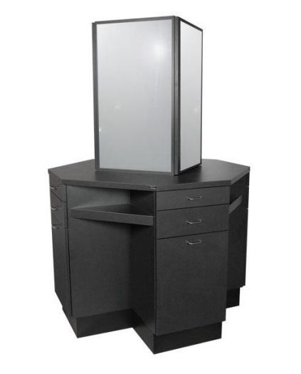 Quad styling station salon furniture toronto canada usf for Salon furniture canada