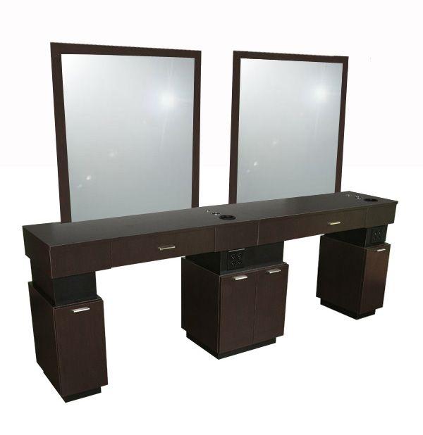 Quad station economy salon furniture toronto canada usf for Salon furniture canada