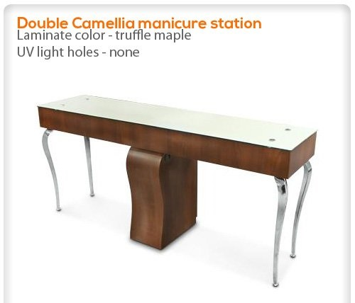 Camellia Manicure Table Single Or Double Salon Furniture