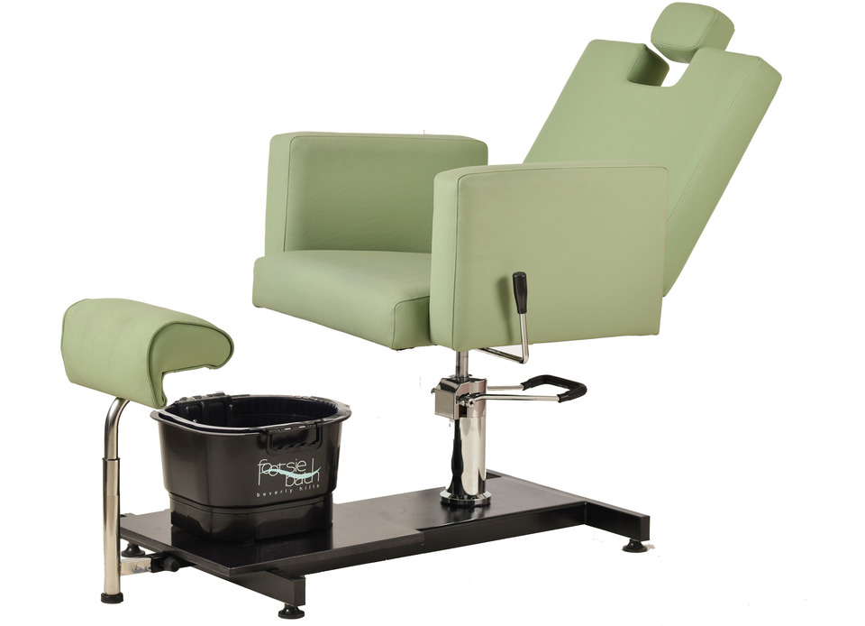 Napoli Pedi Station With Adjustable Height Chair Salon