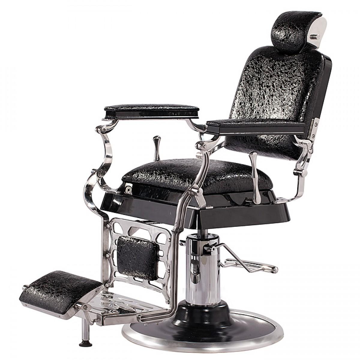 Emperor antique barber chair matt black salon for Salon furniture canada